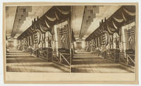 [Sewing machines and stoves, ranges, cast & wrought iron displays, Great Central Fair, Philadelphia, 1864]