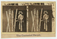 The contested sword.