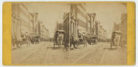 [Chestnut Street from the Custom House, Philadelphia]