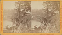 [Dwelling on west bank of Schuylkill River from Laurel Hill Cemetery]