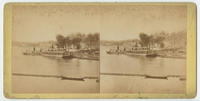 [Steamboats on the Schuylkill River, near Boathouse Row, Philadelphia]