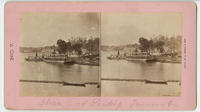 Steam boat landing Fairmount.