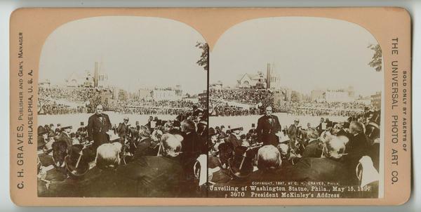 Unveiling of Washington statue, Phila , May 15, 1897  [graphic