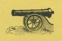 Cannon woodcut