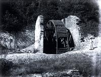 Old water mill, near the Wissahickon. Taken Oct. 14, 1906. A day of happy memories. [graphic].