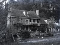 Livezy House (Wm. Rittenhouse, father of David.) (Livezey's Lane) Owned by Joshua Garsed. Built some time before 1745. Washington's headquarters, formerly known as the monastery of the Wissahickon. Bought by Livezey in 1800. 1940, Valley Green Canoe Club.