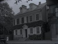 Morris House, 5442 Germantown Ave. Built by Jacob Deschler in 1772. Occupied by Washington in 1793 & 4. [graphic].